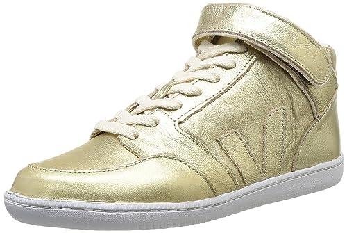 VEJA Felicite - Zapatillas para mujer, color Gold, talla 36: Amazon.es: Zapatos y complementos