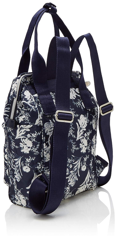Oilily - Groovy Backpack Mvz, Mochilas Mujer, Azul (Blau (Dark Blue)), 12.0x34.0x22.0 cm (B x H T): Amazon.es: Zapatos y complementos