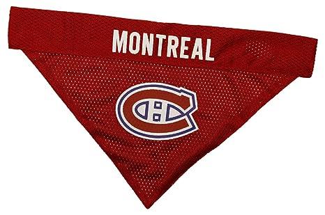 f1fdb9a01 Amazon.com   NHL Montreal Canadiens Bandana for Dogs   Cats