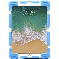 Capa Universal Para Tablets de 9 a 12 Polegadas Geonav em Silicone e Laterais Ajustáveis - Azul, GEONAV, Capa Protetora…