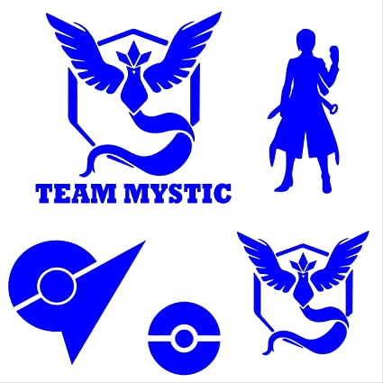 SALE GIFTS 90 Pokemon GO All Teams Vinyl Decal Stickers Instinct Mystic Valor