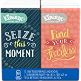 Kleenex Facial Tissues, On-The-Go Pack, 10 Tissues per Go Pack, 8 Pack