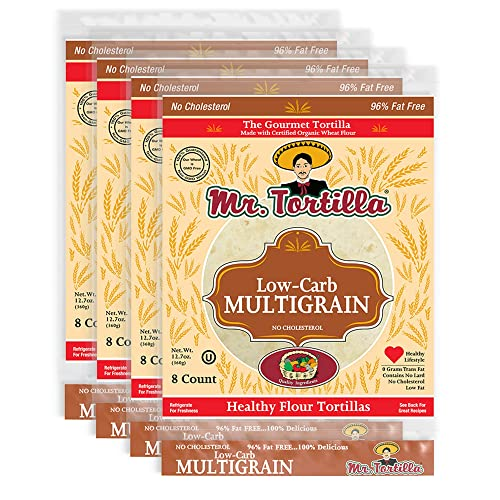 Low-Carb Multigrain Tortilla by Mr. Tortilla