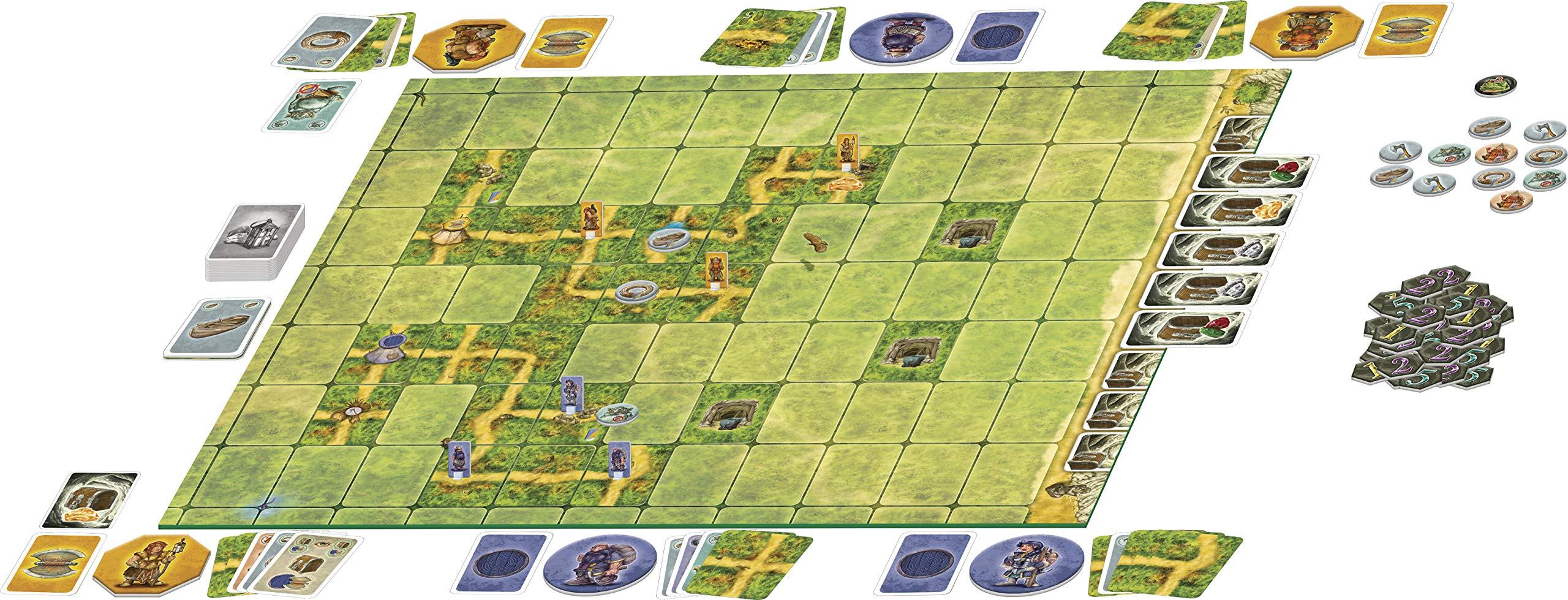 Saboteur - The Lost Mines: AMIGO - Familienspiel: Amazon.es: AMIGO Spiel Freizeit: Libros en idiomas extranjeros