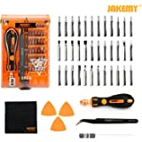 Screwdriver Set, Precision Screwdriver Kit, JAKEMY 36 Magnetic Driver Bits,Repair Tool Kit, All in One with Opening Tool and Tweezer for iphone X / 8/7, Plus, Cellphone, Macbook, Laptop, PC