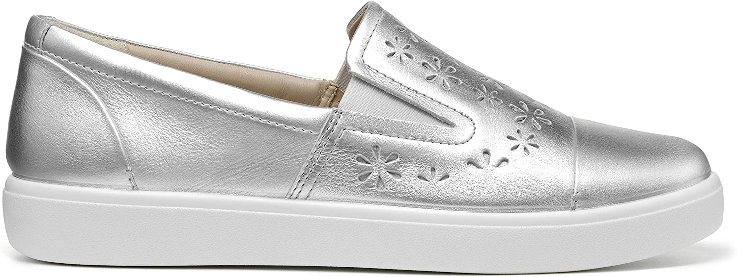 Hotter Womens Pure Wide Fit Slip On Deck Shoes