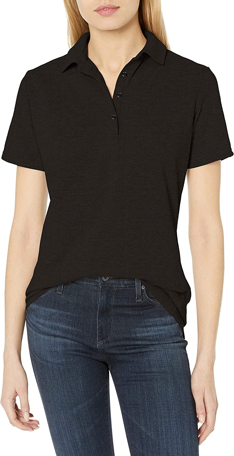 Hanes Women's X-Temp Polo with FreshIQ