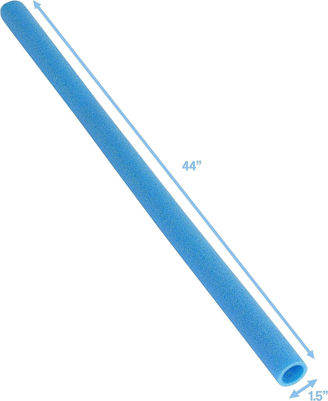 Upper Bounce Guaine in Spugna per Poli da Trampolino 16 Pezzi Poli da 1 e 1.5 Pollici Blu
