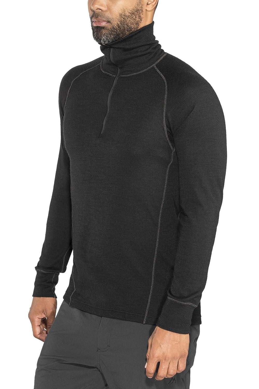 Devold 205 Warm Duo Active Zip Neck Longsleeve Shirt Men - Thermo Funktionsshirt aus Merino