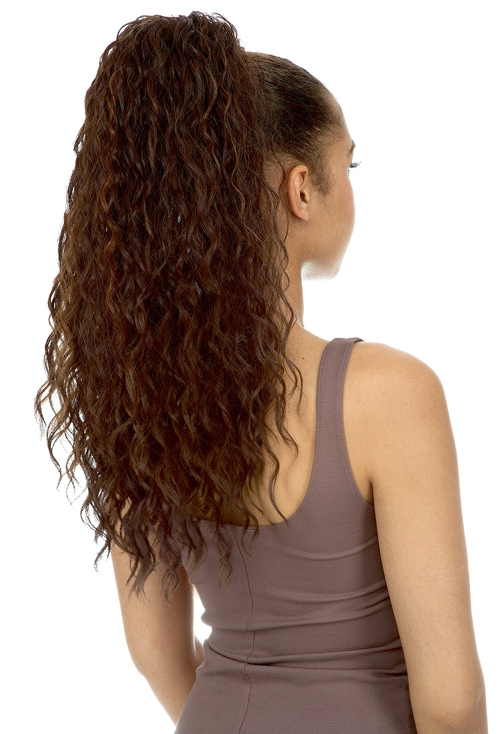 [Ponytail] New Born Free Drawstring Ponytail Curly Style - DIONNA - 0369 (1)
