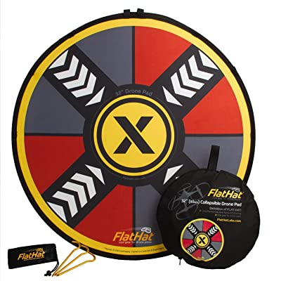 """FlatHat 32"""" (80cm) Collapsible Drone Landing Pad: Camera & Photo"""