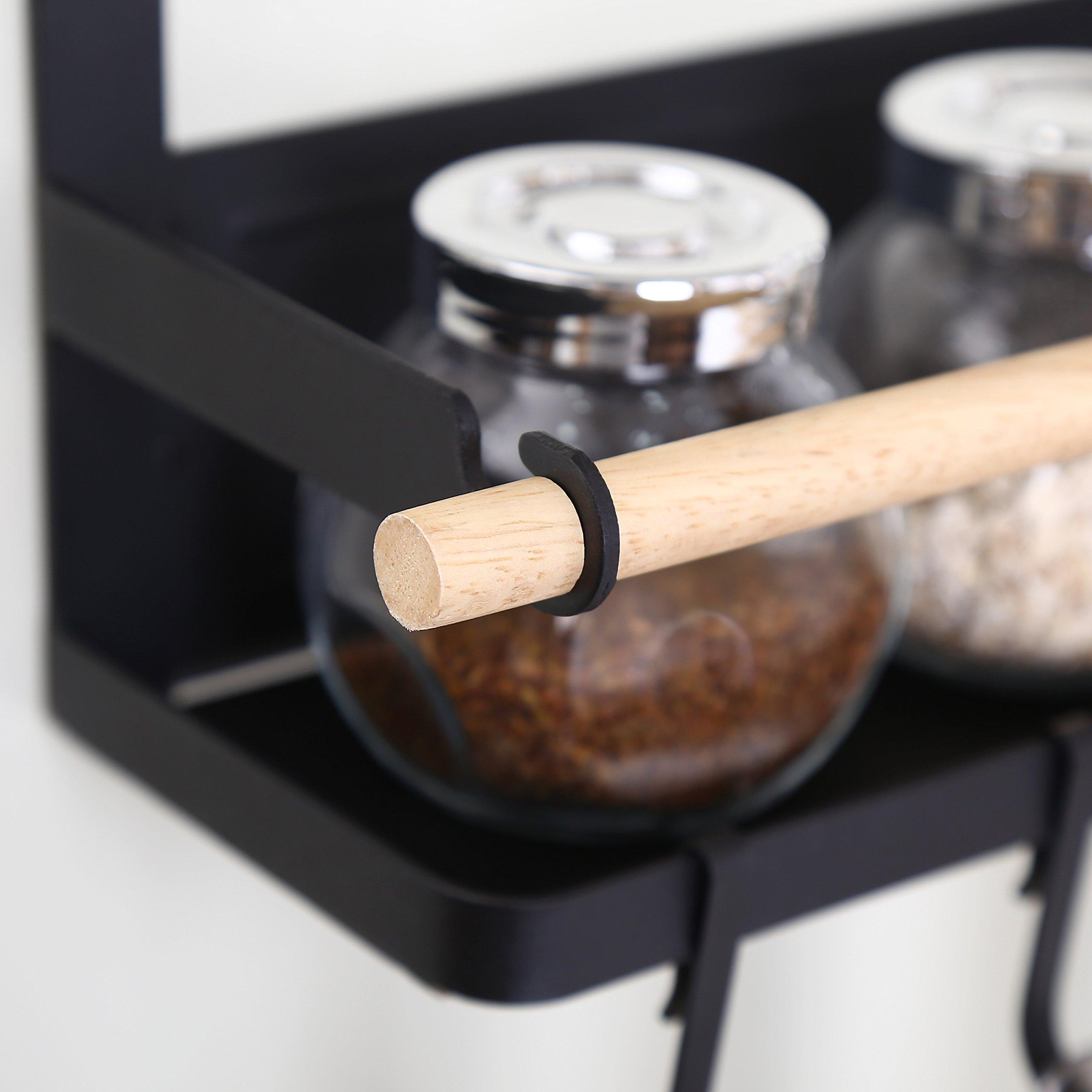 kitchen rack fridge magnetic organizer 2018 new design paper towel holder 190835726401 ebay. Black Bedroom Furniture Sets. Home Design Ideas