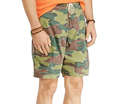 52cabfc92e Polo Ralph Lauren Mens' Shelter Island Camo Swim Trunks | Amazon.com