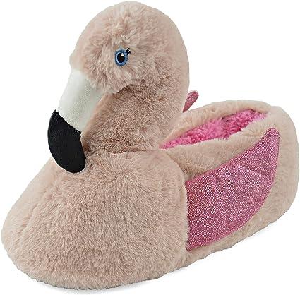 Childrens fleece line Horse Head slippers