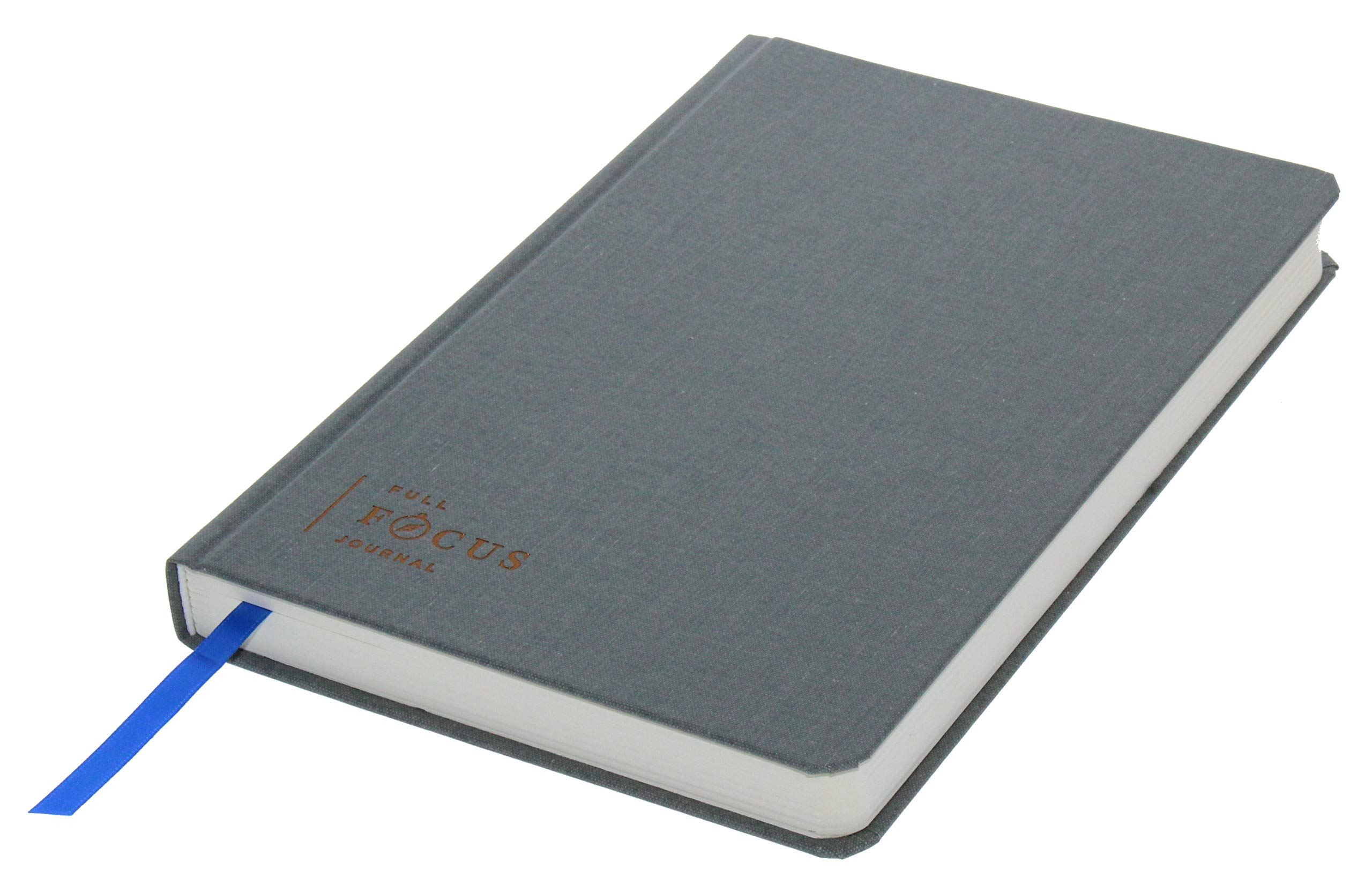 Full Focus Journal by Michael Hyatt - The Daily Journal to Clarify Your Thinking, Process Your Days, and Slow Down - Gratitude & Productivity Journal - Hardcover by Full Focus Journal