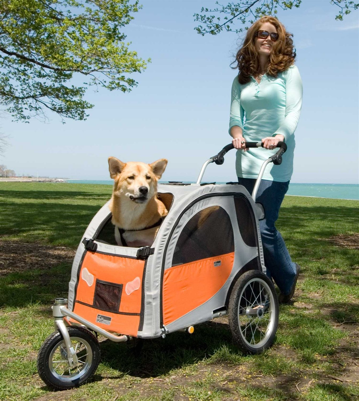 Petego Stroller Conversion Kit for Comfort Wagon Pet Bicycle Trailer, Medium