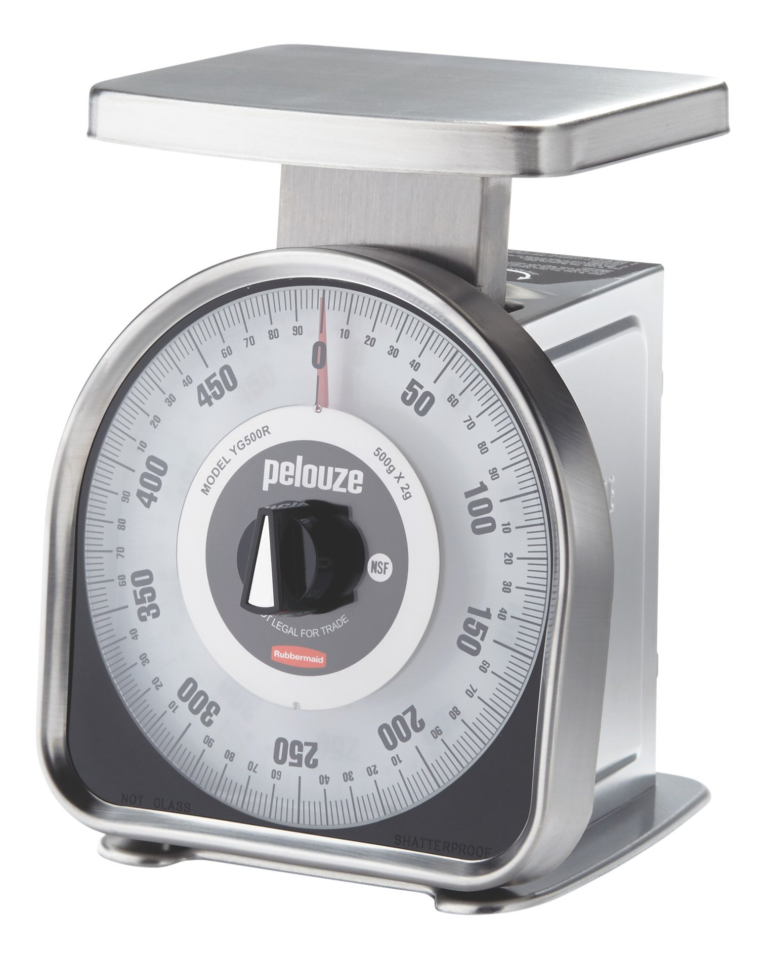 Rubbermaid Commercial Products FGYG500R Rubbermaid Commercial Portion Control Scale, 20 G, Metric