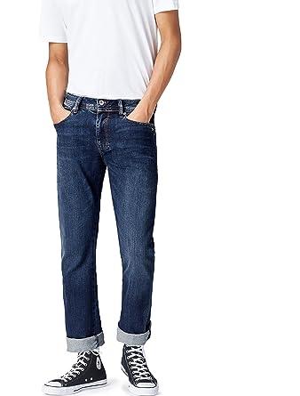 FIND Straight Fit Jeans Herren gerades Bein Vintage-Waschung: Amazon.de:  Bekleidung