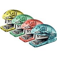 RAPID 5001328 - Mini grapadora escolar modelo F4, Colores Surtidos, 1 unidad