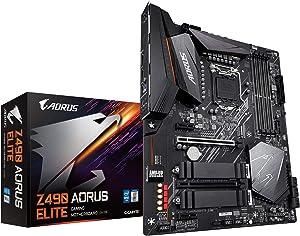 GIGABYTE Z490 AORUS Elite (Intel LGA1200/Z490/ATX/2xM.2/Realtek ALC1200/SATA 6Gb/s/USB 3.2 Gen 2/2.5 GbE LAN/RGB Fusion/Gaming Motherboard)