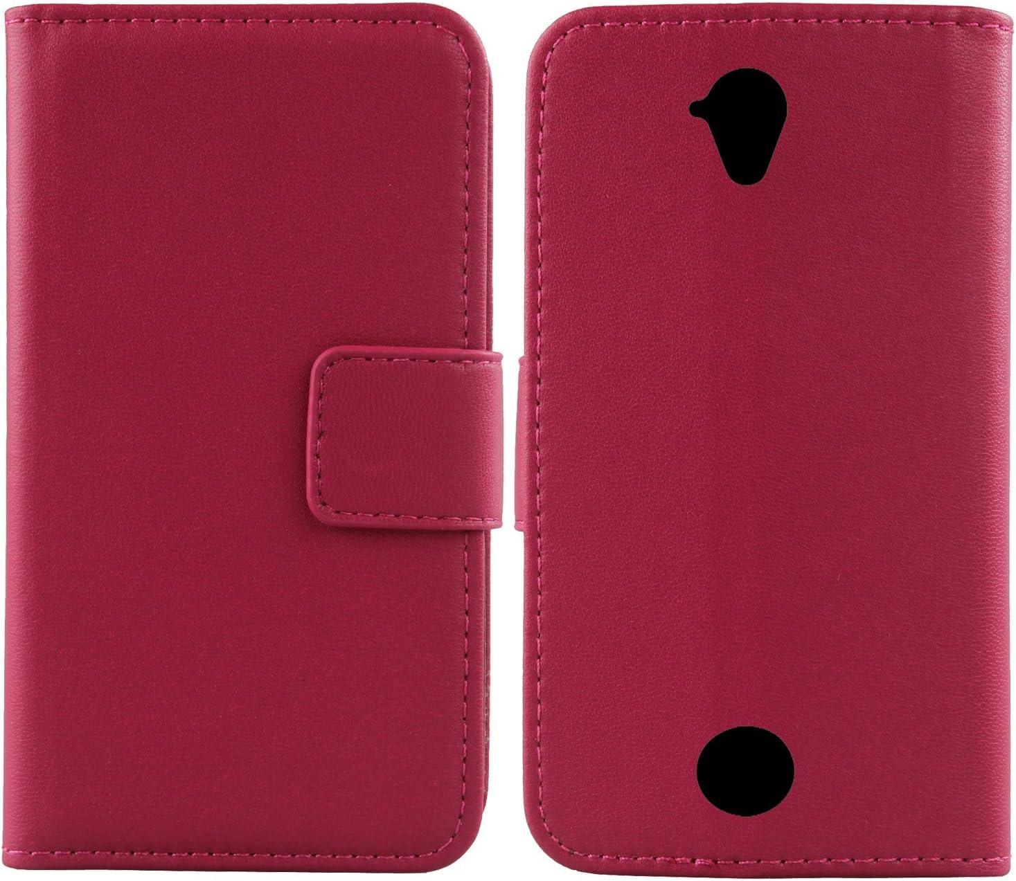 Gukas Design Genuine Leather Case for Acer Liquid Z330 Z320 M330 4.5