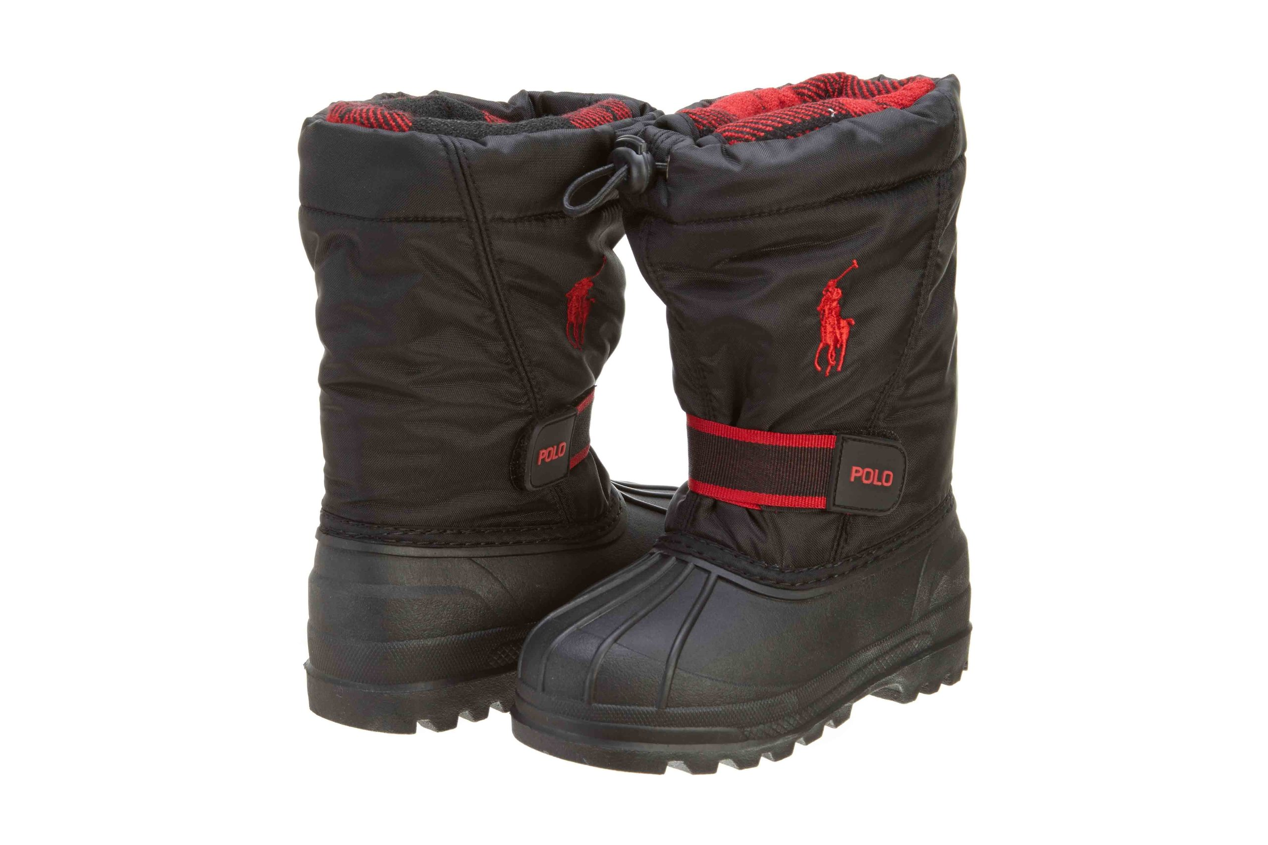 Polo Toddler Baby Whistler Black Red Snow Boot (TD) (10)
