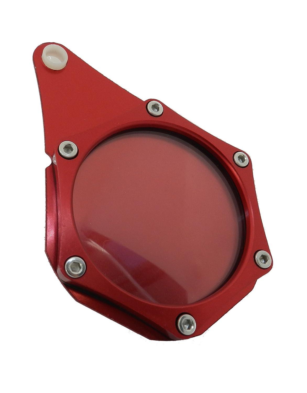 HopIn! Porte-Vignette Assurance ou Crit'Air Aluminium Gris é tanche Moto/Scooter/Quad