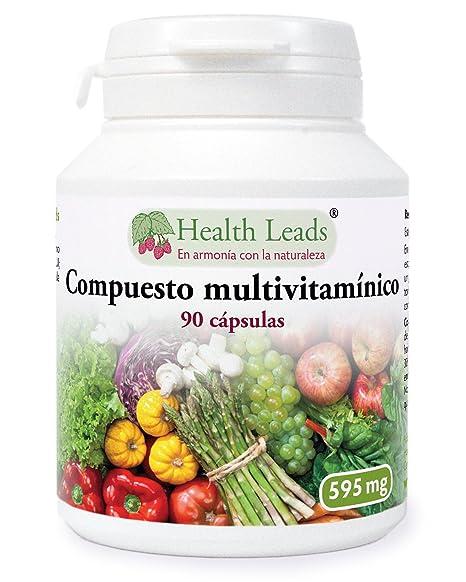 Compuesto multivitamínico 595 mg x 90 cápsulas