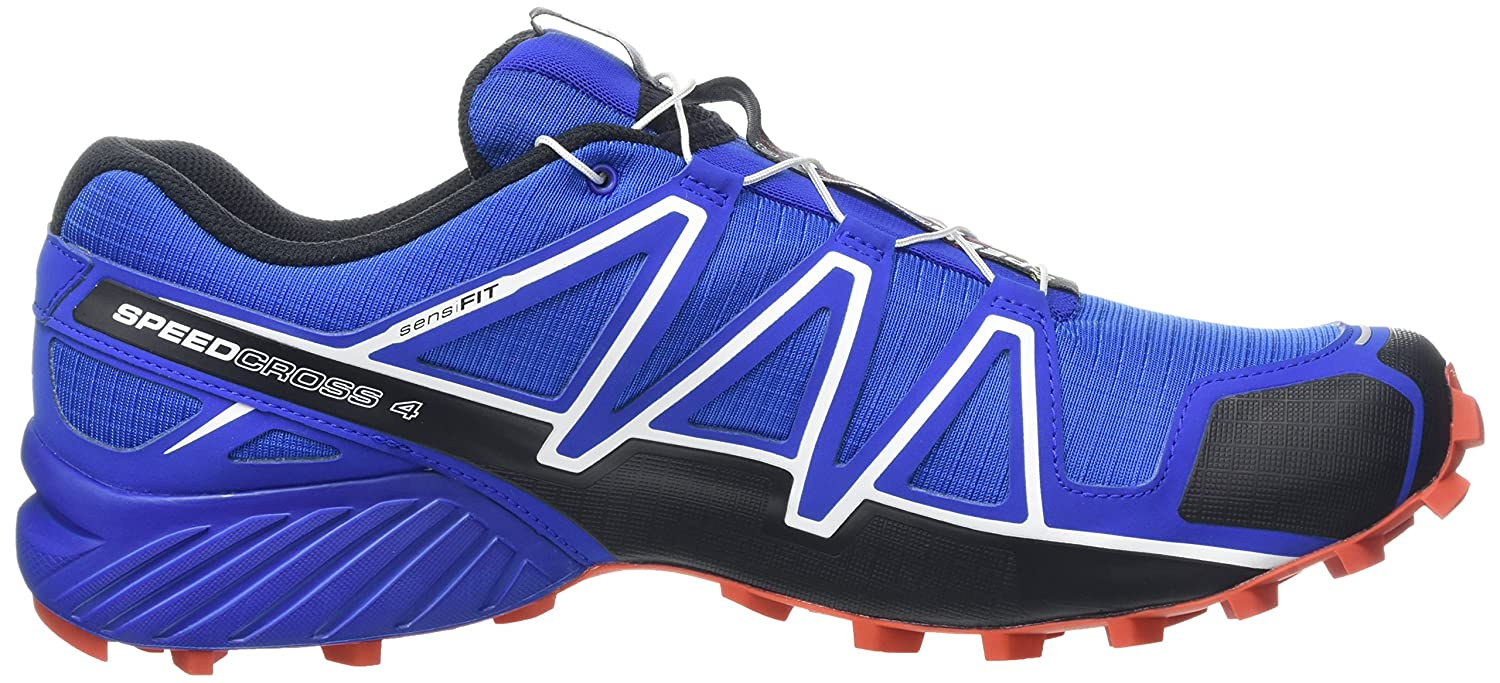 Salomon Men's Speedcross 4 10.5 Trail Running Shoes B017SR3G5I 10.5 4 D(M) US|Blue Yonder/Black/Lava Orange 49d152