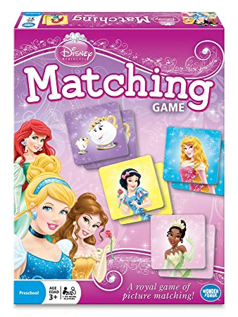 Amazon.com: Disney Princess Matching Game: Toys & Games