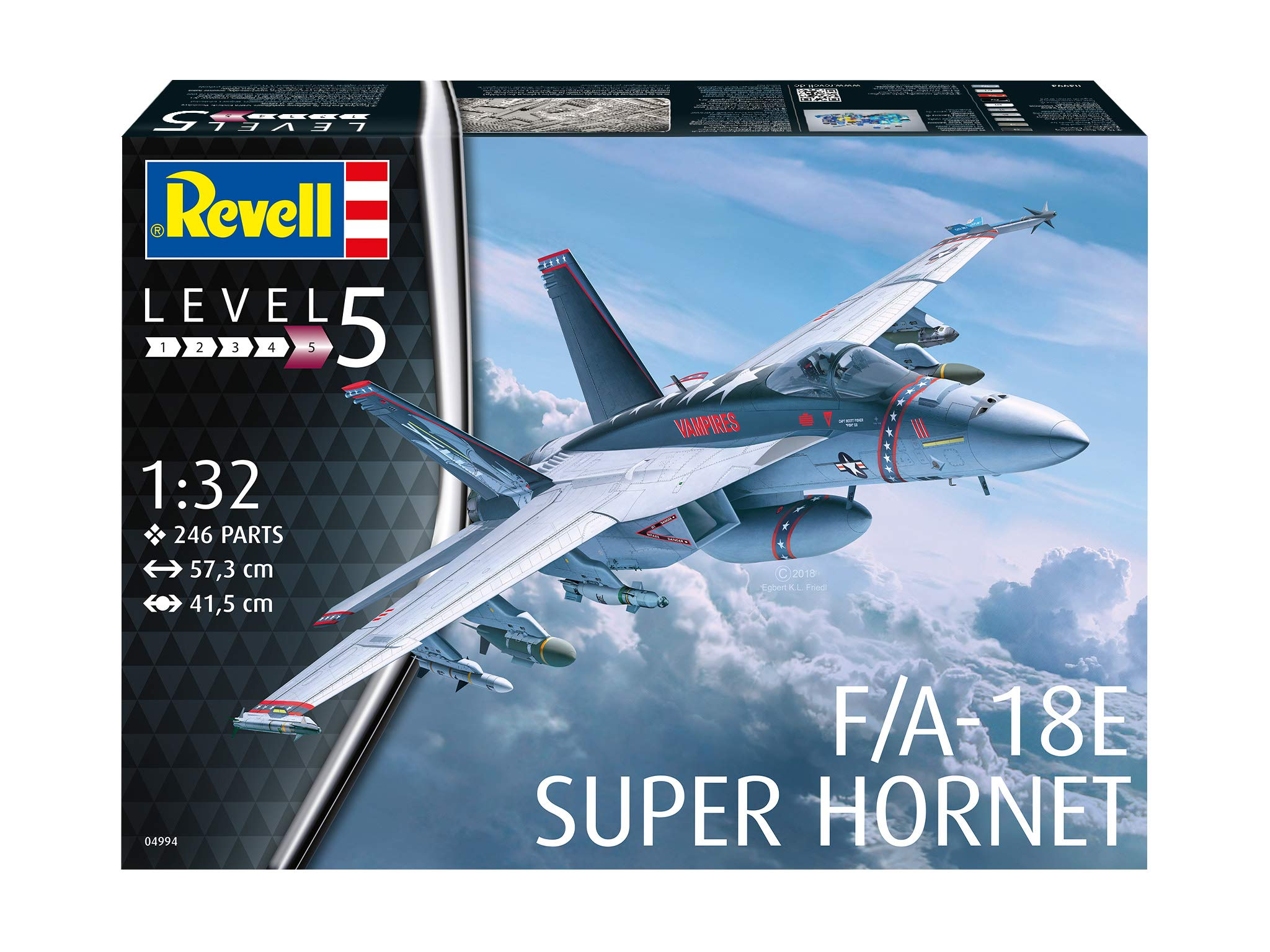 Revell of Germany 04994 1/32 F/A-18E Super Hornet by Revell of Germany (Image #1)