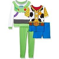 Toy Story Pijama de algodón (4 Piezas) Juego de Pijama para Niños