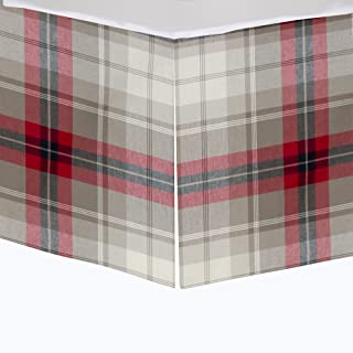 product image for Glenna Jean Fly-by Mini Crib Skirt, Plaid, Mini