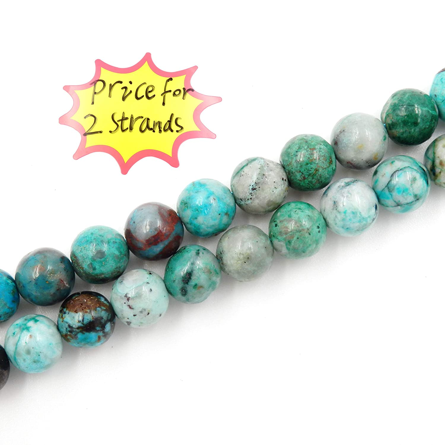 Blue Topaz, 4mm Sold per Bag 2 Strands Inside 100/% Natural AAA Grade Precious Gemstone Beads for Jewelry Making
