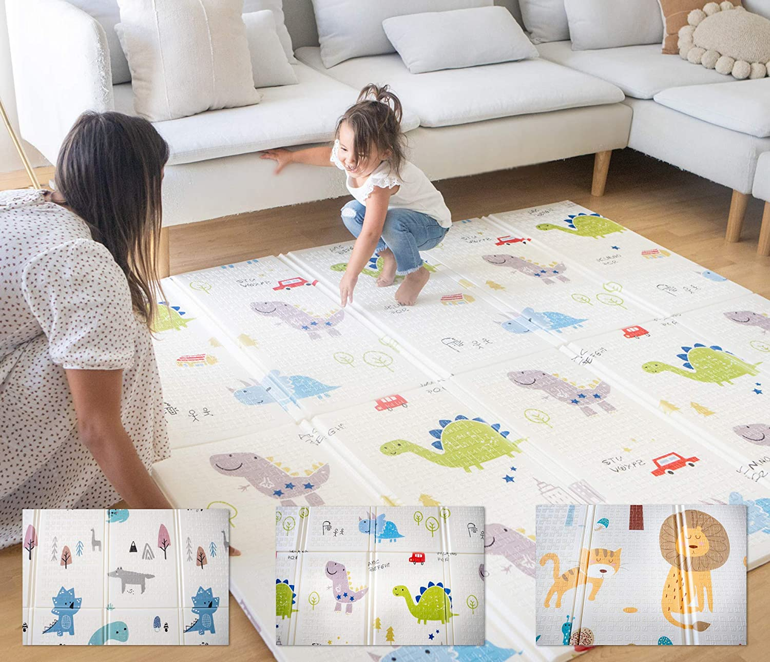 Amazon Coupon Code for Extra Large Foldable Kids Play Mat