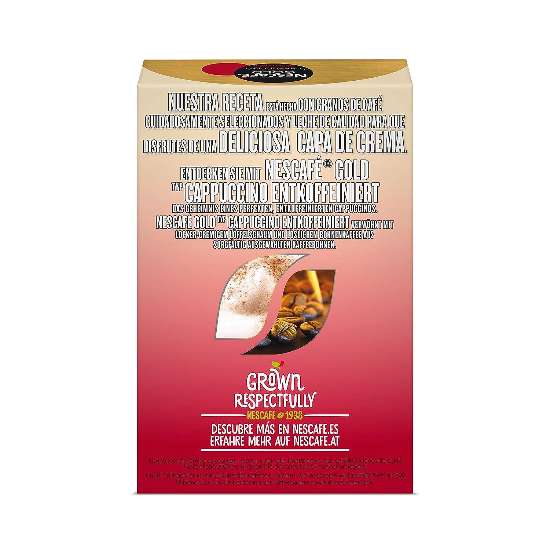 Nescafe | Café instantáneo | Latte Caramel | 8 palos por paquete 136gr/4.80oz: Amazon.es: Alimentación y bebidas