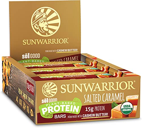 Sunwarrior Sol Good Protein Bars (12x57g) 12 Unidades 684 g