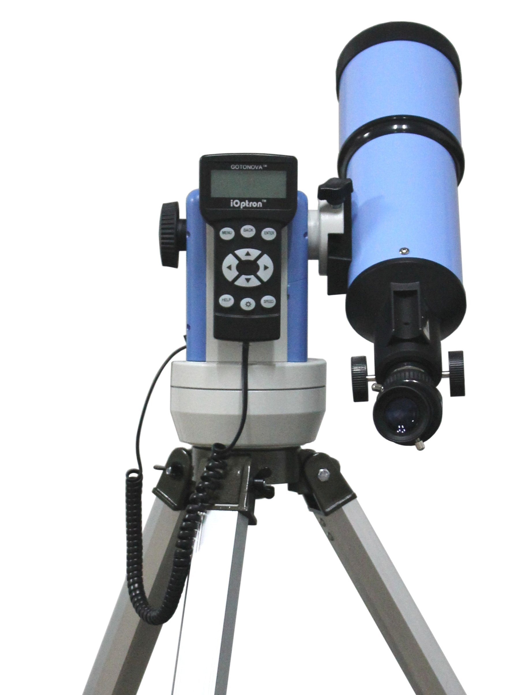 iOptron 9802 SmartStar-R80 GPS Telescope (Blue) by iOptron