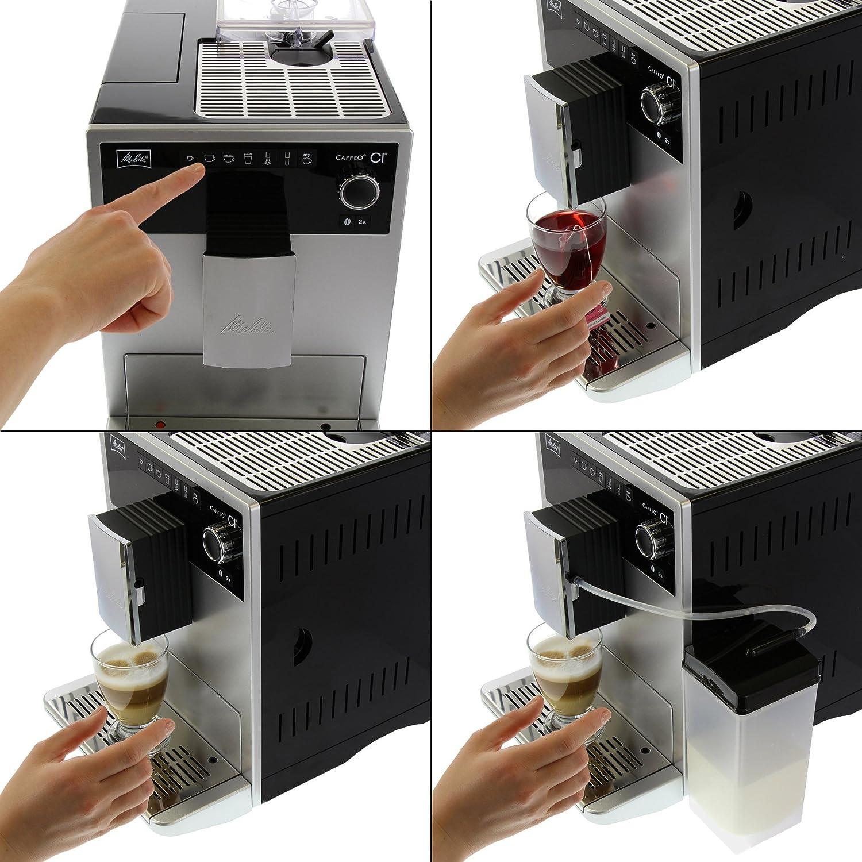 Melitta CAFFEO Ci, Plata-Máquina de café, 1500 W, 1.8 litros: Amazon.es: Hogar