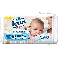Lotus Baby Peau Nette - Coton bébé (lot de 5 paquets de 85 cotons)