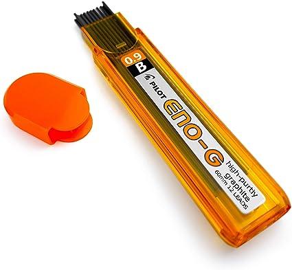 Pilot eno-g lápiz mecánico – Minas para portaminas – 0,9 mm – B – Pack de 3 – 36 minas: Amazon.es: Oficina y papelería