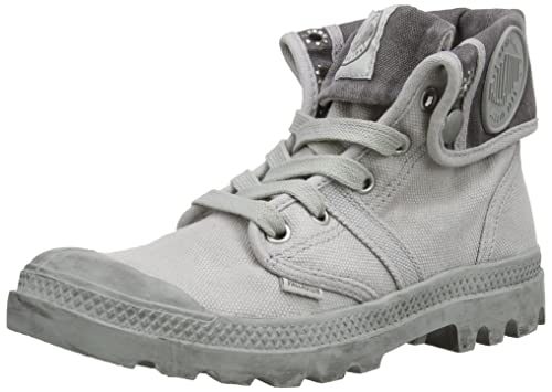 Palladium Pallabrouse Baggy, Damen Desert Boots, Grau (Vapor/Metal), 38 EU (5 Damen UK)
