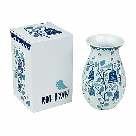 Rob Ryan Bells Vase: Amazon.co.uk: Kitchen & Home Gl Vase Amazon Ca on amazon wallets, amazon wine decanter, amazon garden stools, amazon frames,