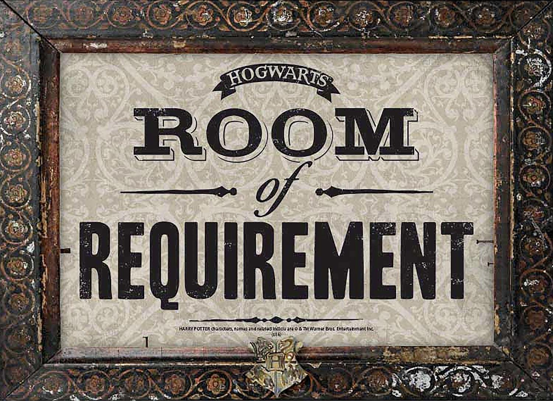 HARRY POTTER Cartel de Chapa Room of Requirement (42 cm x 30 ...