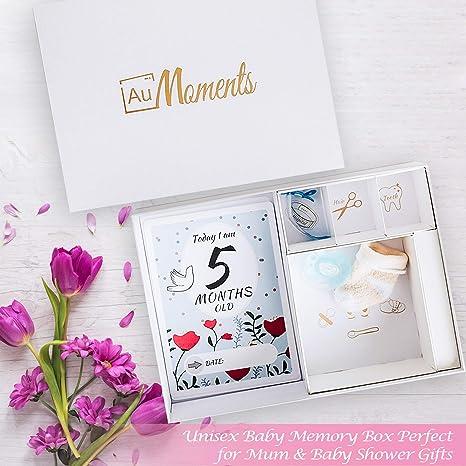 Milestone Cards - Tarjetas de felicitación para baby shower, 50 ...