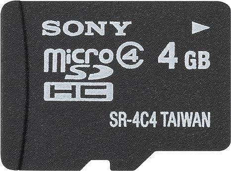 Amazon.com: Sony Clase 4 Tarjeta de memoria Micro SDHC ...