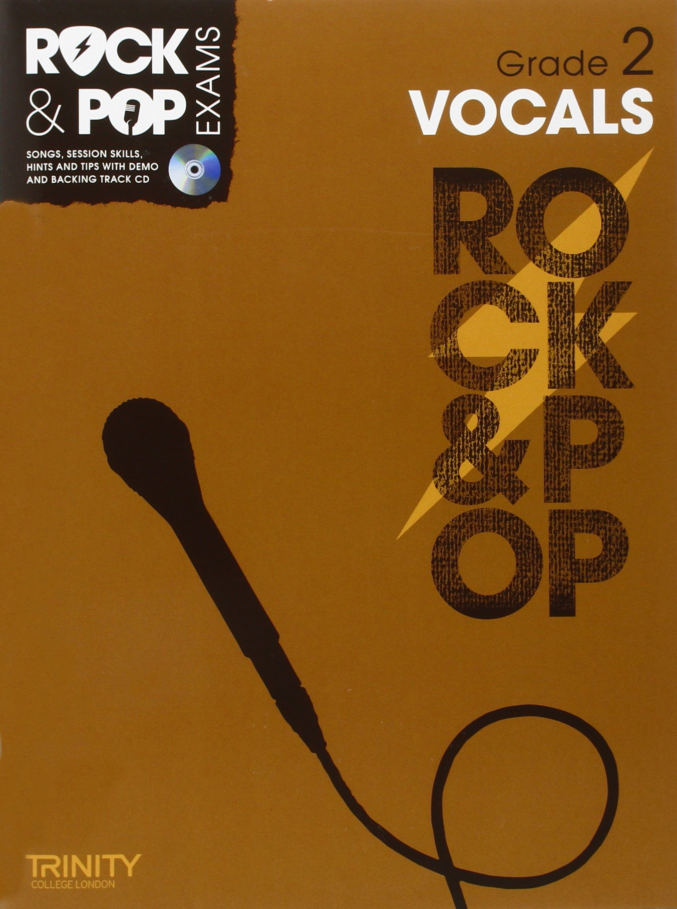 Cd Copertina flessibil Rock /& Pop Grade 2 For Singers Trinity College London