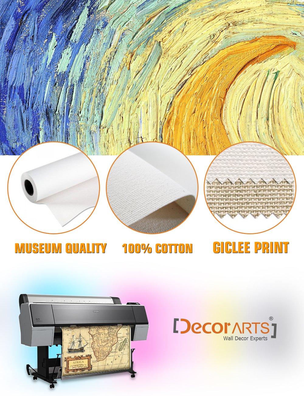 Amazon.com: DecorArts- Africa map wall art. Ancient Map Giclee Print ...
