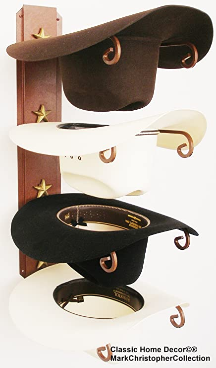 Amazon.com  American Made Cowboy Hat Holder STAR  Home   Kitchen 1df138f9d4a0