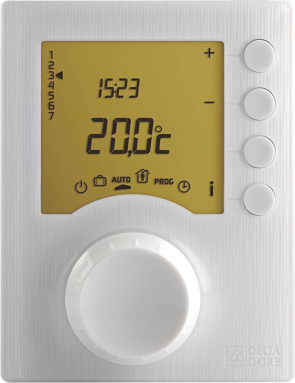 Delta dore tybox - Termostato programable radio tybox237 para calefacción